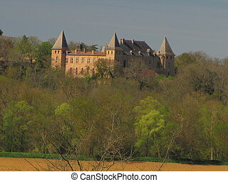 Caumont Castle, Gers - South-West of France