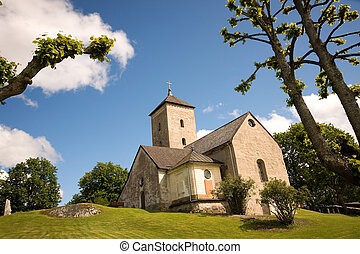 Small church - Small old church in rural Sweden