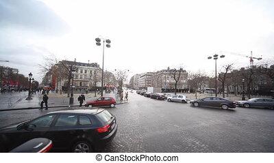 Area of Charles de Gaulle in Paris