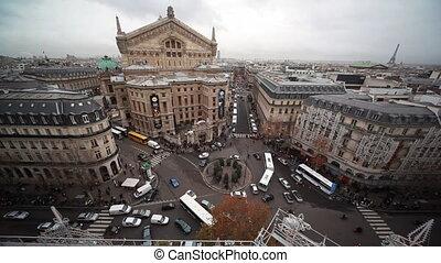 Op?ra Garnier on Place de l'Op?ra in Paris