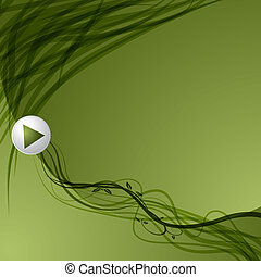 Leaf Vine Arrow Background
