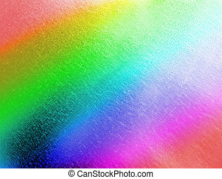 abstract color metal background, rainbow texture closeup -...