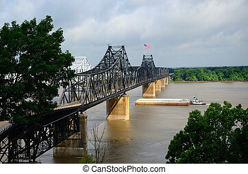 Mississippi Rail Bridge