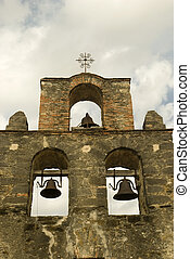 Espada Chapel Bells - Triple bells of the Espada Chapel...
