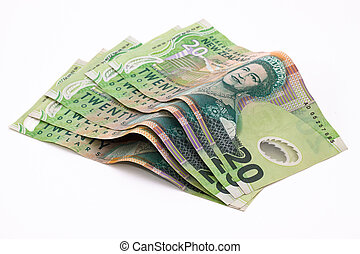 New Zealand Dollars - Dollar notes in New Zealand currency