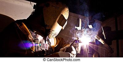 fluxcore welder - craftsman fluxcore welding