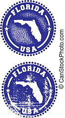 Florida USA Stamps