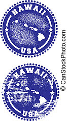 Hawaii USA Stamps