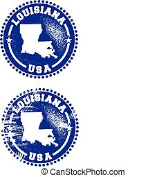 Louisiana USA Stamps