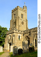 Typical English village church