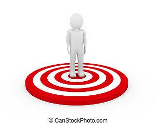 3d man target