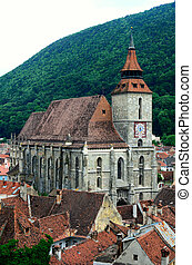 Black Church in Brasov, Romania - Black Church in Brasov,...