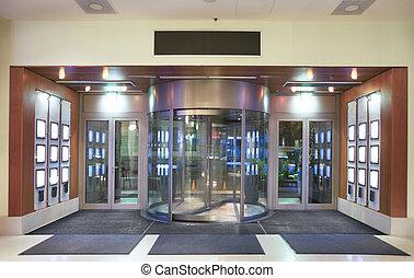 hotel, entrada