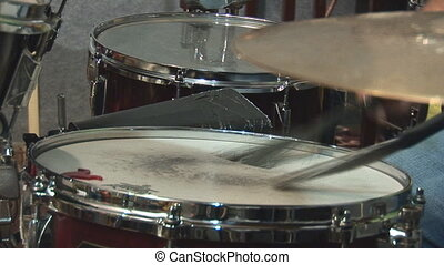 drums 3 - playing drums