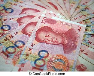 Chinês, moeda corrente