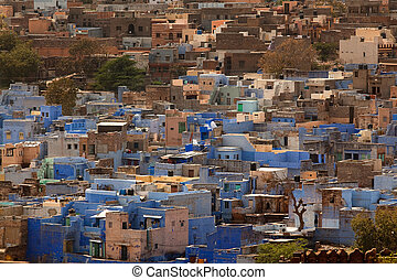 blue house of jodhpur - blue house in the beautiful city of...