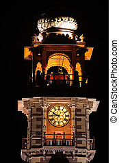 clock tower jodhpur - clock tower in the beautiful city of...