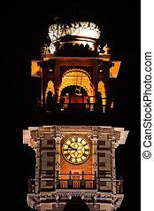 clock tower jodhpur - clock tower in the beautiful city of...