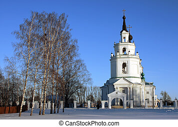 Russian church at winter
