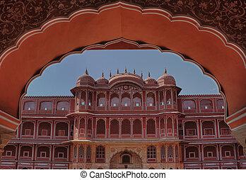 façade,  royal, palais