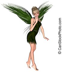 Fairy Tinkerbell - 2 - JM Barrie's Tinkerbell Fairy from...