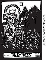 Empress Tarot Card - Empress is the third tarot card in a...