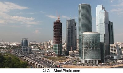 Moscow International Business Center - MOSCOW - JULY 5:...