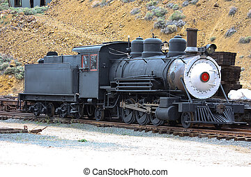 iron horse - 2-6-2 steam engine from gold country Nevada