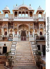temple hinduism in Mandawa rajasthan state in india