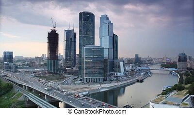 Moscow International Business Center, also referred to as Moscow-City