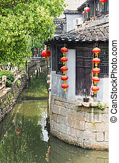 Suzhou village, Jiangsu, China