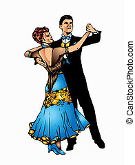 Ballroom dance - This is good couple dancing ballroom dance