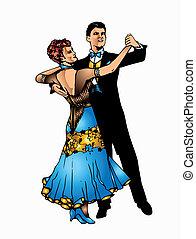 Ballroom dance - This is good couple dancing ballroom dance