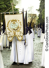 Semana Santa (Holy Week) in Andalusia, Spain.