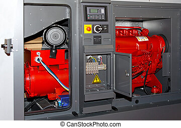 Power generator - Diesel power generator for emergency...