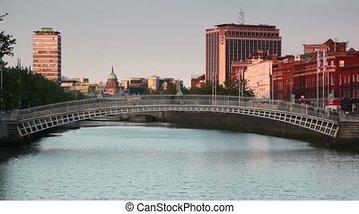 The Liffey Bridge remains the bridge's official name to this...