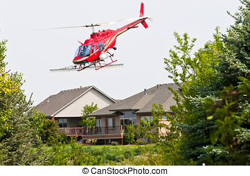 ヘリコプター,  crop-duster