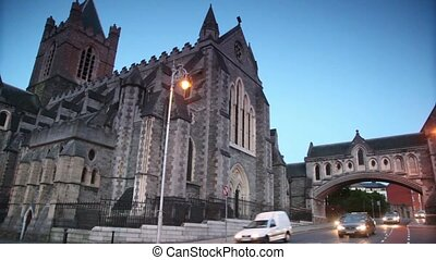 Dublin, Ireland, Christ Church Cathedral.