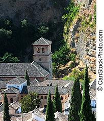Granada - Near the Alhambra, Granada, Spain