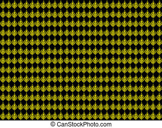 Thai art abtract pattern background
