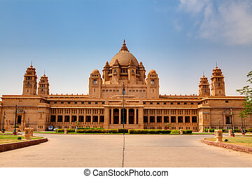 Umaid Bhawan palace hotel in the beautiful city of jodhpur...