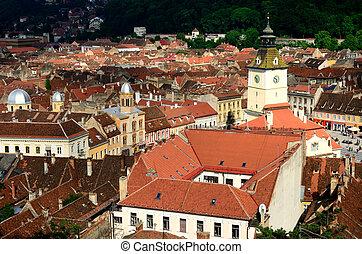 Council House, Brasov, Romania - Medieval center of Brasov...