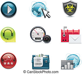 Internet and network icons. P.2