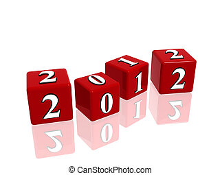 red cubes 2012