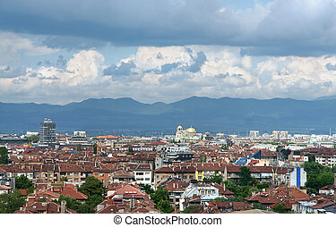 Sofia - View from Sofia city, capital of Bulgaria