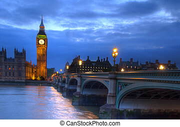 Westminster Bridge - London, Government Houses of the...