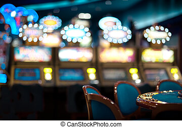 still life in a casino - still life with chair arrangement...