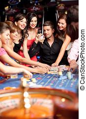 winning roulette friends