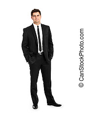 Young businessman