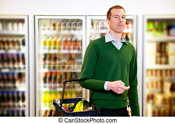 Grocery Store Man